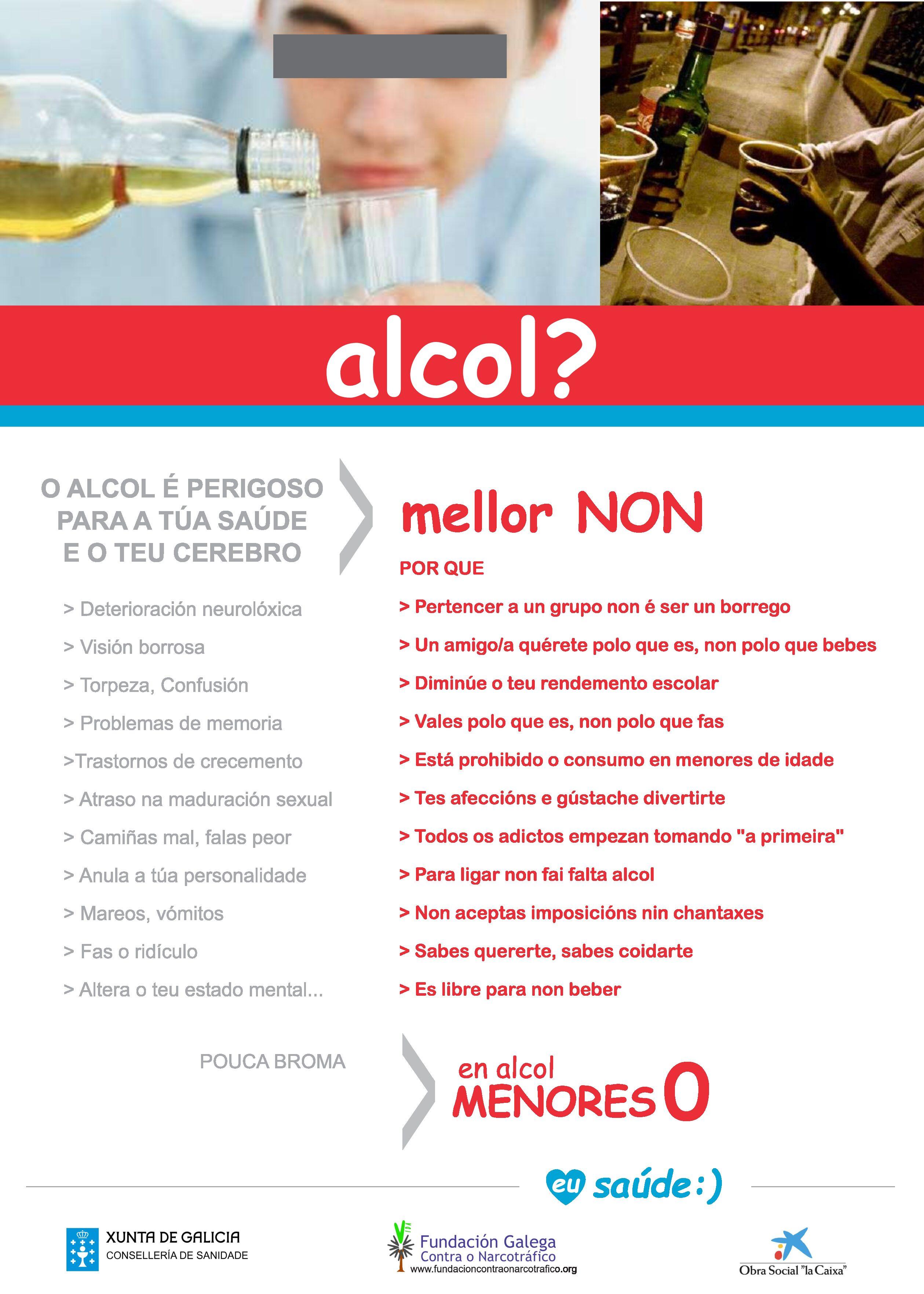 Información e prevención de adiccións - Alcohol